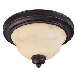 "Nuvo Lighting - Nuvo Lighting 60-1405 Anastasia 2-Light 11"" Flush Dome with Honey Marble Glass - Nuvo Lighting 60-1405 Anastasia 2-Light 11"" Flush Dome with Honey Marble Glass"
