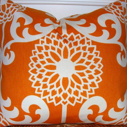 Pillows - Orange Pillow Cover