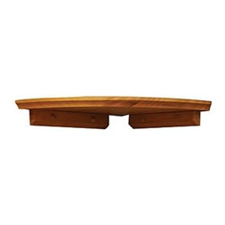 Lewis Hyman - Corner Shelf Kit w Honey Oak Finish & Bracket - Choose Size: 10 in. L x 10 in. WThe traditional design of this corner shelf is a perfect accent for any decor, a great way to turn a quiet corner into a reflection of your own personal style. The shelf is crafted of solid wood in honey oak finish and includes flush mount brackets and hanging hardware. Grooved design. Solid wood construction. 1 shelf, 2 brackets, and all necessary hardware includedWith its traditional design, this shelf kit is a perfect compliment to any decor. Its extra thick shelf and flush mounting brackets make it id