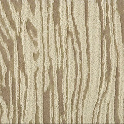 Faux Bois Carpet Tile - I love the look of faux bois, so this wood-inspired carpet tile done by FLOR in collaboration with Martha Stewart is right up my alley. Go for traditional wood tones or purple and green colorways for a little fun.