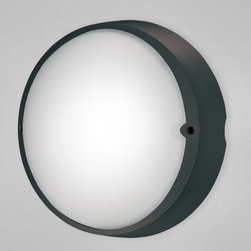 Eurofase - Airy Indoor / Outdoor Wall / Ceiling Mount - Airy Indoor / Outdoor Wall / Ceiling Mount is available in a Grey, White or Black finish.  One 100 watt, 120 volt A19 type Medium base Incandescent lamp is required but not included.  11.25 inch width x 10.37 inch height x 4.75 inch depth.
