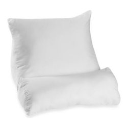 Comfort-trac - Contour 4-Flip Pillow - This pillow incorporates a unique 4-way flip design to accommodate every positioning need. Ordinary pillows can sag and leave you feeling unsupported, but the 4-Flip pillow lets you easily shift your position for maximum comfort.
