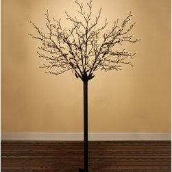 Sterling 7.5 ft. 600 ct. Warm White LED 8 Function Indoor/Outdoor Blossom Tree - The Sterling 7.5 ft. 600 ct. Warm White LED 8 Function Indoor/Outdoor Blossom Tree brings the magic of wintertime into your home or workplace. This 7.5-foot tree stands as a bold centerpiece to any theme. Its 600 LED illuminated blossoms have eight different functions, which are sure to dazzle and attract attention. It is durable for indoor/outdoor use and many seasons of enjoyment.About Sterling, Inc.Located in Kansas City, MO, Sterling, Inc. carries an impressive, diverse selection of holiday decorations and accessories. With items such as miniature ornaments, table-top decorations, novelty lighting, stockings, and theme trees, Sterling, Inc. is recognized as One Great Source for holiday products. Two categories essential to Sterling, Inc. include Sterling's Forest, which is a full line of lifelike trees, pre-lit trees, wreaths and garlands, and Designer's Studio, which features versatile hand-blown and hand-painted glass. In addition to holiday products, Sterling, Inc. carries an exclusive line of palm trees, creative lighting and lawn decorations. Creating festive outdoor environments is top priority for Sterling, Inc., whose mission is To be the leader in our industry by exceeding the expectations of our employees, our employer, our sales agents, and our customers.