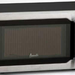 Avanti - .7CF 700 W Microwave BkSS OB - Avanti 0.7 Cu Ft Microwave with 700 Watts of Cooking Power; Electronic Control Panel; One Touch Cooking Programs; Speed Defrost; Cook / Defrost by Weight; Minute Timer; Turntable with Glass Tray; Black Cabinet with Stainless Steel Front and Handle.  This item cannot be shipped to APO/FPO addresses. Please accept our apologies.