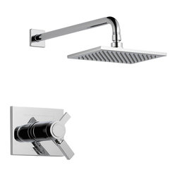 Delta TempAssure(R) 17T Series Shower Trim - T17T253 - Inspired by slim lines and graceful arc of a ribbon, the Vero bath collection offers a high-end, modern look to the bath.