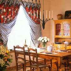 Eclectic Curtains by Window Dressings