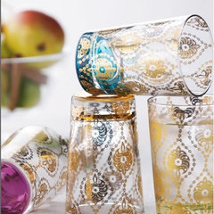 mediterranean glassware by Horchow