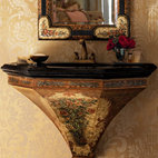 Traditional Bathroom Sinks -