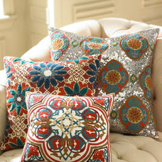 Eclectic Decorative Pillows by Horchow