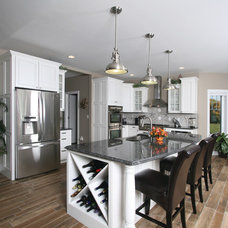 Beach Style Kitchen by Showplace Kitchens