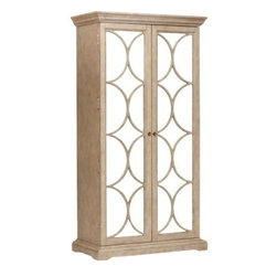 Ellery Armoire - I would love to keep my sweaters and off-season items in a beautiful armoire. The mirrored front of this one will help bounce light around the room.