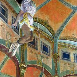 Miss La La at the Cirque Fernando, 1879 | Edgar Degas | Canvas Prints - Condition: Unframed Canvas Print