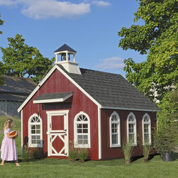 Little Cottage - Little Cottage 8 x 12 Stratford Schoolhouse Wood Playhouse Multicolor - 8X12STRA - Shop for Tents and Playhouses from Hayneedle.com! The Little Cottage 8 x 12 Wood Stratford Schoolhouse Wood Playhouse will keep your little student smiling. This playhouse kit comes complete with all the important components and is easy to assemble. You'll love the durability and charming nostalgic smile of the completed product while your child will adore having a space of her very own. Encourage imaginative play with this unique playhouse available in your choice of configurations. Please note that if you purchase the Playhouse without a floor kit then you must supply your own materials for the interior floor. When completed the house measures approximately 8W x 12D x 10H feet. Width is measured from side to side while depth is measured from font to back. The height is measured from the tip of the cupola. Side walls are 45-inches high. Kits include: 2x3 wood wall framing 2x4 wood trusses Siding and trim pre-fastened to wall panels Panelized pre-cut walls for easy assembly 8 working Plexiglass windows with screens and aluminum frames Child's Dutch door in front (20W x 40H inches) Adult's Dutch door on side (34W x 61H inches) Porch roof over child door White aluminum outside corner trim Primed siding and trim - ready to paint Cupola with bell Assembly hardware Link to full-color downloadable instruction manual The Schoolhouse Playhouse is constructed from LP Smart Side wood which is a popular building material thanks to its durability and low environmental impact. Solid yet lightweight enough for easy handling the pieces of this house are treated with SmartGuard finishing which uses zinc borates to resist rot and mold while minimizing chemical use and pollutant output. Because LP Smart Side is so strong and safe the playhouse pieces are covered by a 50-year limited warranty from LP. This playhouse does not include paint shingles or dripedge (roof edging). About The Little Cottage CompanyNestled in the heart of Ohio's Amish country The Little Cottage Company resides in a quaint slow-paced setting where old-fashioned craftsmanship and attention to detail have never gone out of style. Our experienced carpenters and skilled designers take great pride in creating top-quality pre-built models and Do-It-Yourself kits of playhouses storage sheds and more.