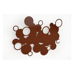 Wallter - Bubble Rack, Brown - The Wallter Bubble Rack - Brown: Designed by Linda Geiser, Max Geiser. Part of the Wallter Bubble Rack Family.