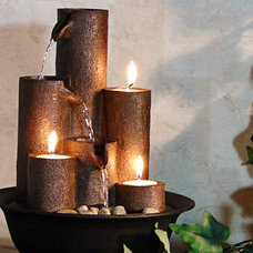 Traditional Indoor Fountains by Serenity Health & Home Decor