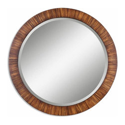 Uttermost - Contemporary and Modern Uttermost Jules Wood Mirror Home Accent Decor - Contemporary and modern Uttermost Jules wood mirror living dining and family room home accent decor