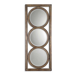 Silver Undertone Triple Mirror - Silver Undertone Triple Mirror
