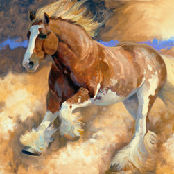 Murals Your Way - Desert Wind Wall Art - Painted by Carolyne  Hawley, the Desert Wind wall mural from Murals Your Way will add a distinctive touch to any room