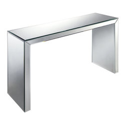 Sterling Industries - Sterling Industries 6043518 Matinee Hall Table - Style, Sophistication And Glamour Come Together To Make This Hall Table Truly Spectacular Complete With Beveled Edges.  Console Table (1)