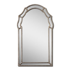 Uttermost - Uttermost 12837 Petrizzi Decorative Arched Mirror - Uttermost 12837 Petrizzi Decorative Arched Mirror