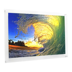 Wexel Art - 2840D Double Panel Acrylic Wall Frame 28x40 - NOTE: Photos not included.