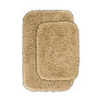 """Garland Rug - Bath Mat: Serendipity Linen 21"""" x 34"""" Bathroom 2 -Piece Rug Set - Shop for Flooring at The Home Depot. This heavyweight shag bath rug will fit easily into any bathroom decor. Serendipity is made with 100% Nylon for superior softness and colorfastness. And is proudly made in the USA.."""