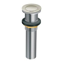 Moen - Moen 140780BN Lav Sink Drain Brushed Nickel - Moen 140780BN Repair Part Lavatory Sink Drain - Brushed Nickel