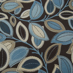 Turning Leaves Earth Fabric - Pattern: Turning Leaves