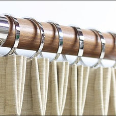 Contemporary Curtain Rods by Urban Decors