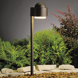 Kichler - Kichler No Family Association Outdoor Landscape Lighting Fixture in Red - Shown in picture: Path & Spread 1-Lt 12V in Textured Architectural Bronze