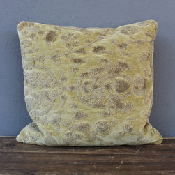 grimsley pillow – citron - view this item on our website for more information + purchasing availability: http://redinfred.com/shop/category/free-shipping/grimsley-pillow-citron/