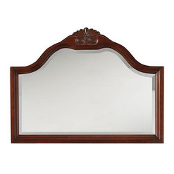 Home Decorators Collection - Portland Large Mirror - From the Portland Collection, this mirror is the ideal finishing touch to complete the look of your bathroom. The large mirror is suite for double vanities or large single vanities. Add this stylish piece to your decorating mix. Made of poplar solid wood and birch veneer. Durable construction ensures long-lasting beauty and use.