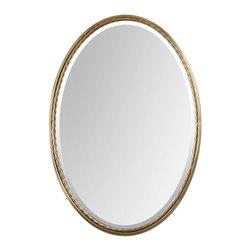 Uttermost - Casalina Brass Oval Mirror - Casalina Brass Oval Mirror