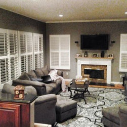 LI's Shutter Specialists to the Rescue! - A room full of shutters!