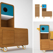 Contemporary Kids Dressers And Armoires by e-glue
