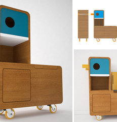 contemporary kids dressers by e-glue