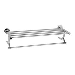 Hotel Style Bathroom Towel Racks - DoorCorner.com