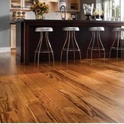 Tigerwood Hardwood Flooring - Tigerwood Clear Smooth Prefinished Hardwood Flooring