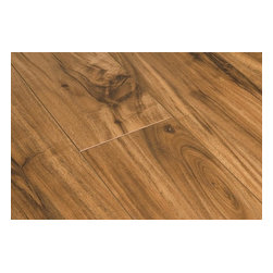 "Toklo - Toklo Laminate - 12mm Acacia Collection - [12.9 sq ft/box] - Natural Acacia -  This 12 mm laminate flooring from Toklo is a first-quality, high-end, AC3 Rated, CARB-ATCM - Phase 1 compliant in CA, HDF core flooring. The embossed in registered finish on the acacia products is a manufacturing process that intensifies the depth, texture and adds to the realistic look of the floor by aligning the embossing with the printed design.     The boards in the Acacia collection are random length. On average, each box will contain 10 pieces as follows; 3 15 3/4"" length, 3 31 1/2"" length and 4 47 3/4"" length.     The drop lock locking system allows for ease of installation without using glue and can be installed over radiant heat; on, above or below ground. This laminate flooring is suitable for residential and light commercial applications and comes with a lifetime residential warranty and 5 year commercial warranty."