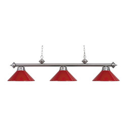 Red track lighting fixtures