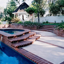 Pool Scapes and Standard Sheeting Waterfalls - Geremia 2000 Series Standard Sheeting Waterfalls