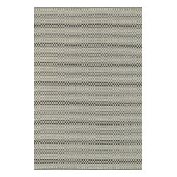 """Loloi Rugs - Loloi Rugs Terra Collection - Steel, 2'-3"""" x 3'-9"""" - Bring all the indoor appeal of a flat weave - the durability, the versatility, and the texture- to your outdoor space with our Terra Collection. Hand woven in India, Terra comes in great colors like sage, steel, and graphite made to match with today's indoor and outdoor furnishings. And because Terra is made with 100% polypropylene, it can withstand regular sunshine and rain."""
