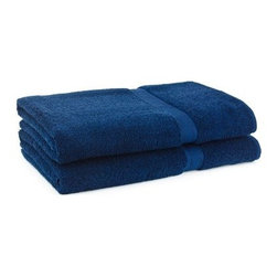 Cambridge Grand Egyptian 2 pc. Bath Sheet Set - Wrap yourself in luxury with the Cambridge Grand Egyptian 2 pc. Bath Sheet Set. These generously sized towels are made thick and thirsty from 100% Giza Egyptian cotton. You get two large bath sheets in the set. They're available in a wide range of cool and warm hues to match any bath decor. Bath sheets (each): 70 x 35 in.About Cambridge Towel CorporationCambridge Towel Corporation is the largest manufacturer of terry products in Canada. Priding themselves in quality, color and design, and customer satisfaction, Cambridge designs and manufacturers all of their products, including towels, bath accessories, shower curtains, and bath rugs. This reliable company distributes nationally and internationally to retail stores and hotels. Centrally located in Cambridge, Ontario, Cambridge Towel Corporation also has a distribution center in Hamilton, Ontario.