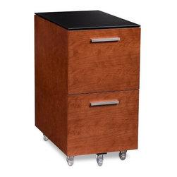BDI - BDI | Sequel® 2-Drawer Mobile File Pedestal 6005 - Design by Matthew Weatherly.