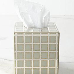 Waylande Gregory - Tissue Box Cover - IVORY (TISSUE HOLDER) - Waylande GregoryTissue Box Cover