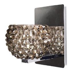 WAC Lighting - WAC Lighting WS58-G542 Gia Crystal Bead Shade Halogen Wall Sconce - Features: