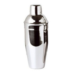Franmara - 24 Ounce Stainless Steel Cocktail Shaker Set with Smooth Chrome Design - This gorgeous 24 Ounce Stainless Steel Cocktail Shaker Set with Smooth Chrome Design has the finest details and highest quality you will find anywhere! 24 Ounce Stainless Steel Cocktail Shaker Set with Smooth Chrome Design is truly remarkable.