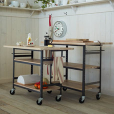 Traditional Kitchen Islands And Kitchen Carts by West Elm