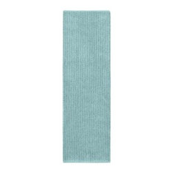 "Garland Rug - Bath Mat: Accent Rug: Sheridan Sea Foam 22"" x 60"" Bathroom - Shop for Flooring at The Home Depot. Beautify your bathroom and make your feet happy with Sheridan Bath Rugs. These rugs will compliment any bathroom decor. The distinctive stripe pattern gives a modern, but yet traditional sleek design. Sheridan is made with 100% Nylon for superior softness and colorfastness. Proudly made in the USA."