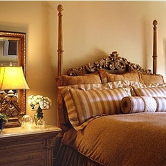 traditional bedroom by Norman Design Group, Inc.